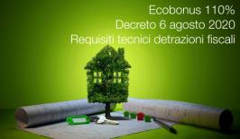 Decreto 6 agosto 2020 | Requisiti tecnici detrazioni fiscali Ecobonus
