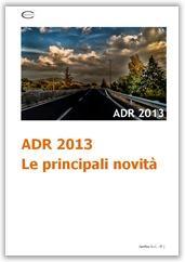ADR 2013: Le principali novità