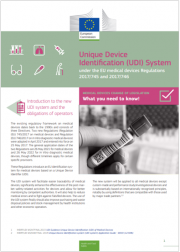 Faq Unique Device Identification (UDI) System