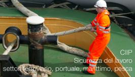 CIIP: Sicurezza del lavoro settori ferroviario, portuale, marittimo, pesca