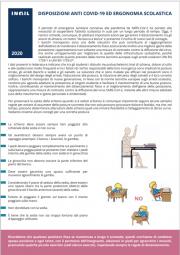 Disposizioni anti Covid-19 ed ergonomia scolastica