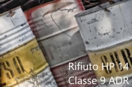 Classificazione Rifiuti HP14 e ADR Classe 9