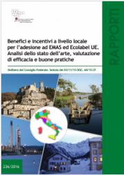 EMAS ed Ecolabel UE: Rapporto ISPRA