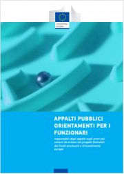 Guida UE appalti pubblici