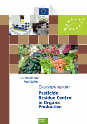 Pesticide residue control in organic production