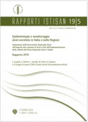Rapporto Epidemiologia e monitoraggio alcol-correlato ISS 2019