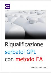 Riqualificazione serbatoi GPL con metodo EA