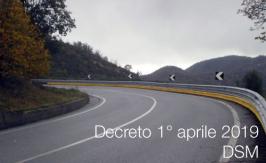 Decreto 1° aprile 2019