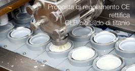 Proposta di regolamento CE rettifica CLP biossido di titanio