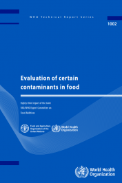 Evaluation of certain contaminants in food
