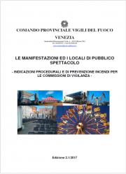 Linee guida PI Locali di Pubblico Spettacolo VVF