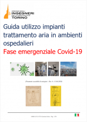 Guida utilizzo impianti trattamento aria in ambienti ospedalieri