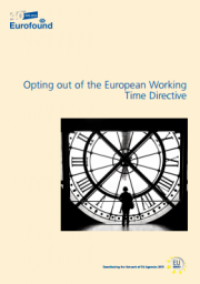 Opting out of the European Working Time Directive