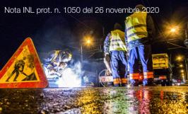 Nota INL prot. n. 1050 del 26 novembre 2020