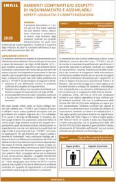 Fact sheet INAIL 2021 Ambienti confinati e/o sospetti di inquinamento e assimilabili