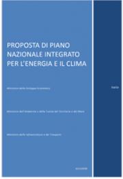 Proposta Piano Nazionale Integrato per l'Energia e il Clima Italiano