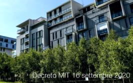 Decreto MIT 16 settembre 2020