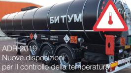 ADR 2019 Preview: nuove disposizioni controllo temperatura
