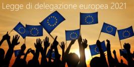 Legge di delegazione europea 2021