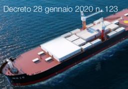Decreto 28 gennaio 2020 n. 123
