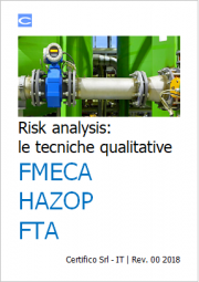 Risk analysis: Le tecniche qualitative FMECA, HAZOP, FTA