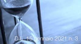 Decreto-Legge 15 gennaio 2021 n. 3