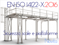 Accessi macchinario le novità introdotte da EN ISO 14122-X:2016