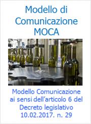Modello di Comunicazione GMP - MOCA