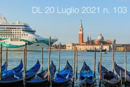 Decreto-Legge 20 Luglio 2021 n. 103