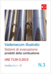 Vademecum sistemi evacuazione combustione | UNI 7129-3:2015