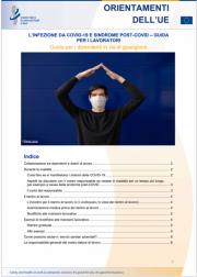 L'infezione da COVID-19 e sindrome post-COVID - guida per i lavoratori