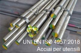 UNI EN ISO 4957:2018 | Acciai per utensili