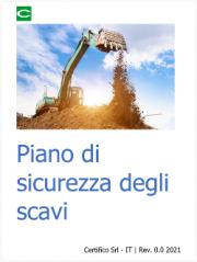 Piano di sicurezza degli scavi