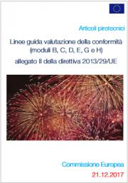 Linee guida valutazione conformità Allegato II direttiva 2013/29/UE