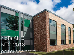 Nota di lettura ANCI   NTC 2018 ed edifici scolastici