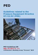 PED Guidelines Pressure Equipment Directive 97/23/EC - V. 1.5 April 2014