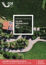 Rapporto statistico solare fotovoltaico GSE 2020