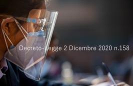 Decreto-Legge 2 Dicembre 2020 n.158