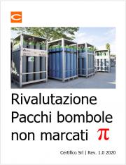 """Rivalutazione Pacchi bombole non marcati """"π"""""""