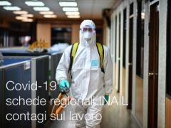 Covid-19 | Contagi sul lavoro denunciati all'Inail: schede regionali 31 Agosto 2020