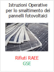 Pannelli fotovoltaici: le Istruzioni operative per lo smaltimento GSE