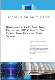 GPP   Nuovi criteri UE centri dati, sale server e servizi cloud