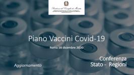 Piano Vaccini Covid Italia | Dati per regione 17.12.2020