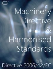 Machinery Directive & Harmonised Standards | Update 2019