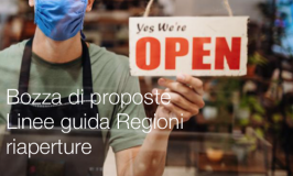 Bozza proposte di Linee guida Regioni riaperture
