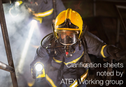 Clarification sheets noted by ATEX WG | Status Febraury 2020