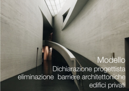 Modello Dichiarazione progettista eliminazione barriere architettoniche