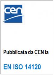 EN ISO 14120: Disponibile dal CEN