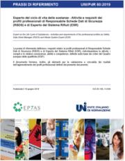 UNI/PdR 60:2019 Ciclo di vita delle sostanze
