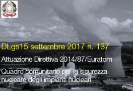 Decreto Legislativo 15 settembre 2017 n. 137